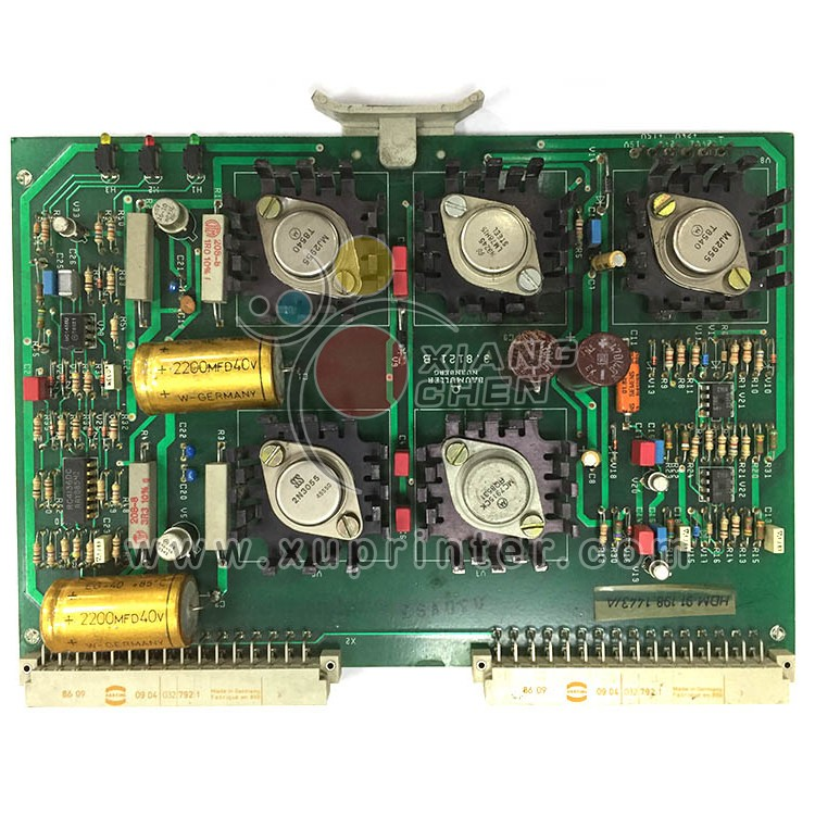 Heidelberg Power Supply Unit Karte SPV, 91.198.1443, Heidelberg circuit board