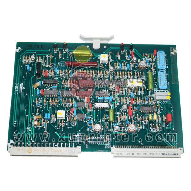 Heidelberg Plug-in Card for Ink Key Motors, 91.198.1473, Heidelberg circuit board, Heidelberg Offset Machinery Parts