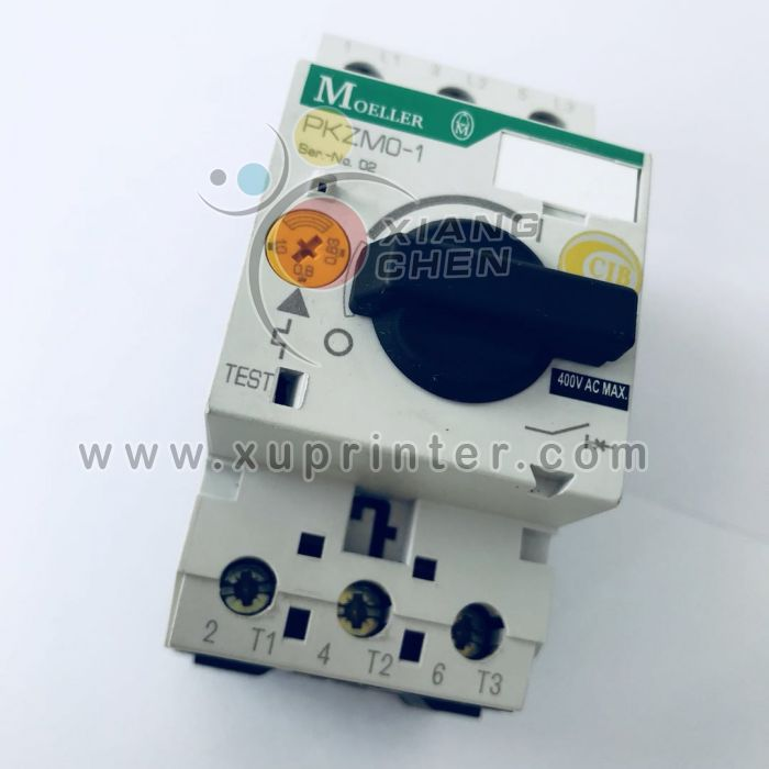 Heidelberg  Switch, Motor Circuit-breaker, Moeller PKZM0-1,0 +nhI-E-10, 91.144.3941, Heidelberg offset machinery parts