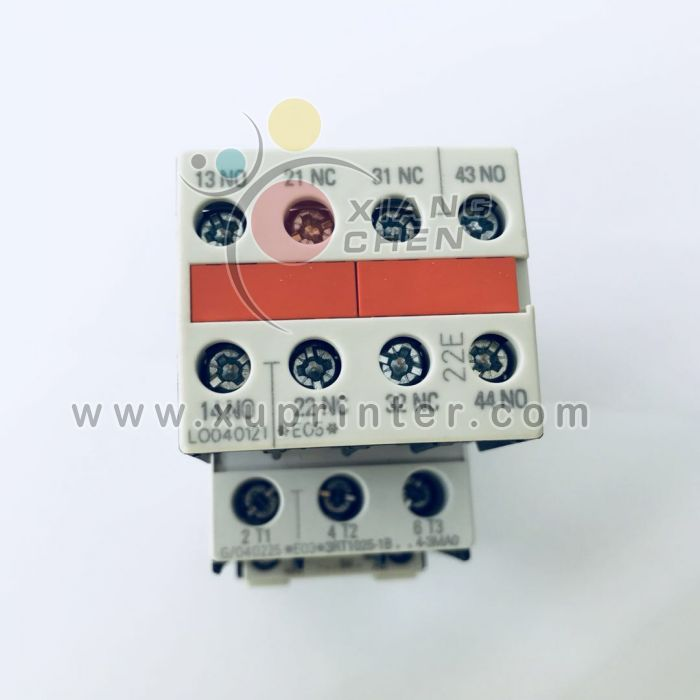 Heidelberg Switch, Siemens 3RH1921-1HA22-3AA1 Contact Block Auxiliary 10A 240V, Heidelberg parts